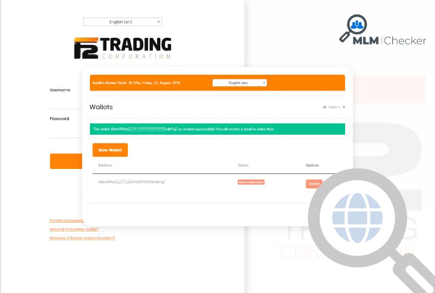 F2 Trading Corp