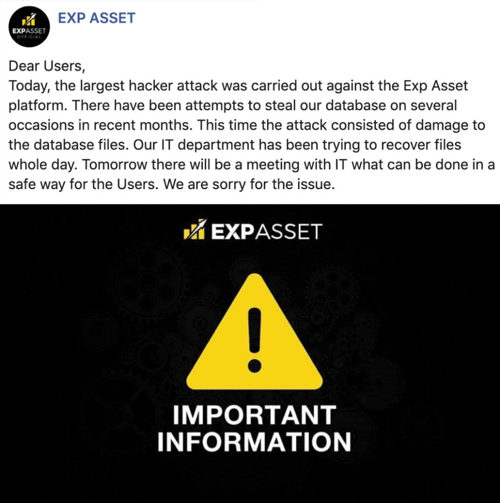exp asset
