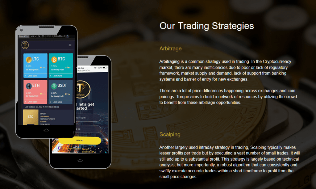 Torque Trading products